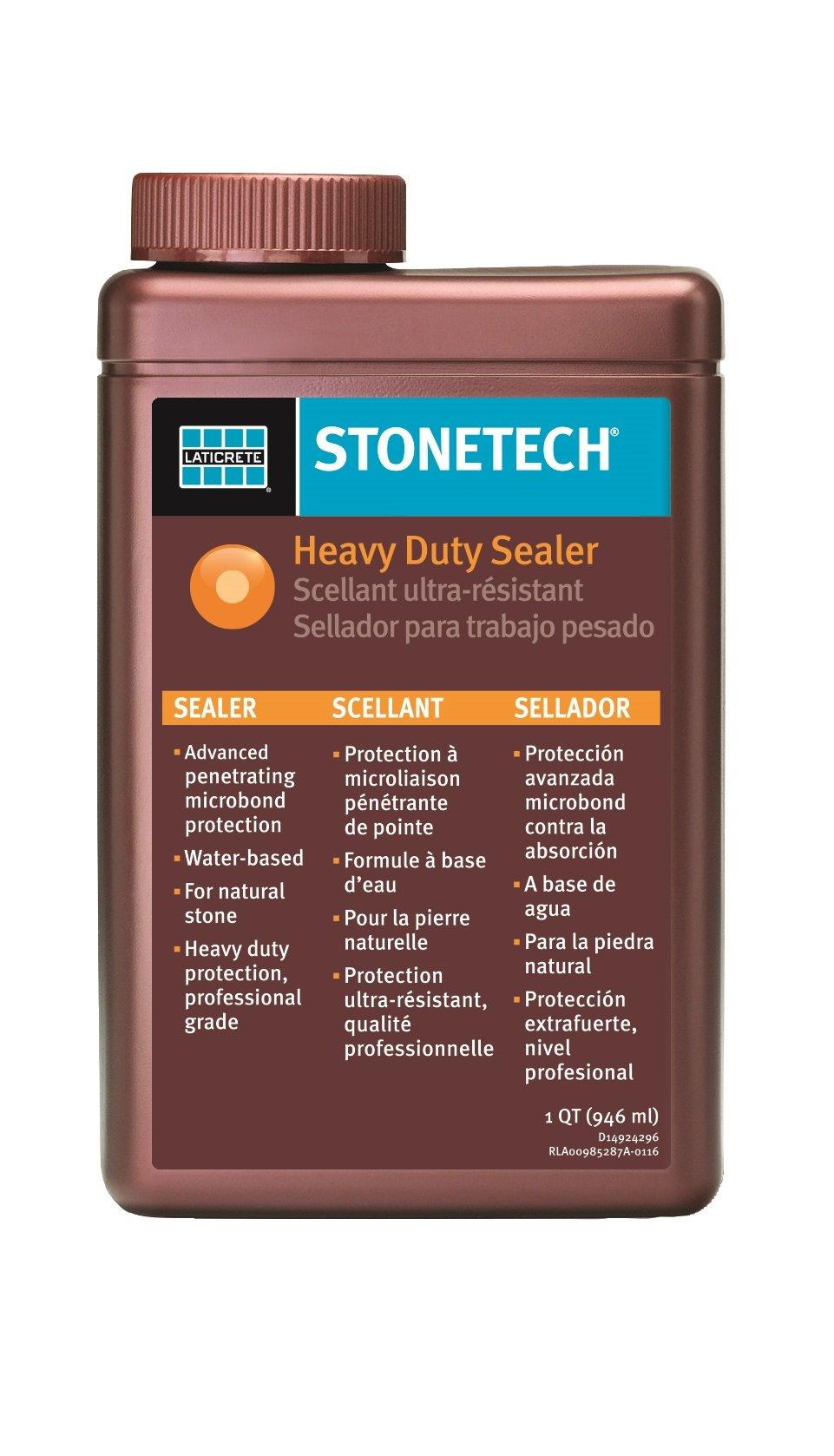 StoneTech Heavy Duty Sealer for Natural Stone, 1-Quart (.946L)