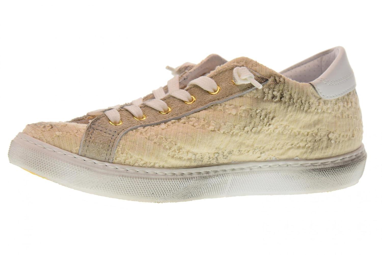 2 Star Frauen Niedrige Turnschuhe Schuhe 2SD 1849 Beige