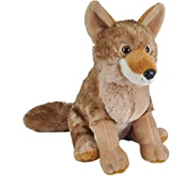 Wild Republic Coyote Plush, Stuffed Animal, Plush Toy, Gifts for Kids, Cuddlekins 12 Inches