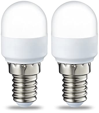 AmazonBasics E14 LED Lampe T25, Kühlschranklampe, 1.8 W (ersetzt 15 ...