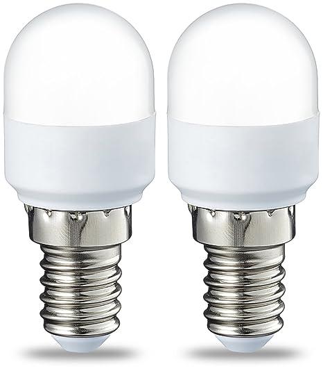 AmazonBasics Bombilla LED T25 E14, 1.8W (equivalente a 15W ...