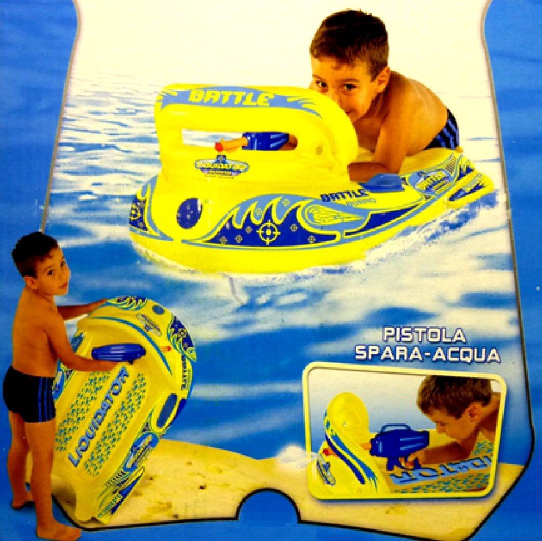 Hinchable liquidador barco pistola agua Blaster pistola piscina ...
