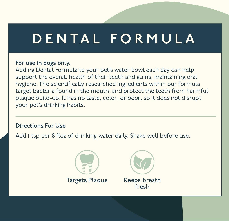 Petlab Co. Dental Wash | Dog Mouthwash & Teeth Cleaner | Dental Water Additive, Targets Plaque & Tartar | Maintains Clean Teeth & Supports Gum Health & Fresh Breath