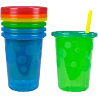 The First Years Take & Toss - Straw Sippers (5pcs), Multicolor