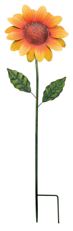 """Regal Art & Gift 11453 Flower Stake - 36"""" Sunflower"""
