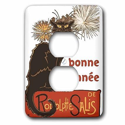 3dRose Taiche - Vector - New Year Humor - Bonne Annee Happy New Year ...