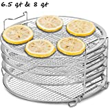 Dichmag Dehydrator Rack Grill Accesories Compatible For Ninja Foodi Pressure Cooker and Air Fryer 6.5 and 8 Quart…