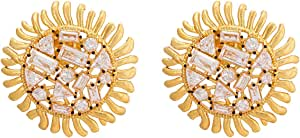 Style Jewellery Gold Plated Earring