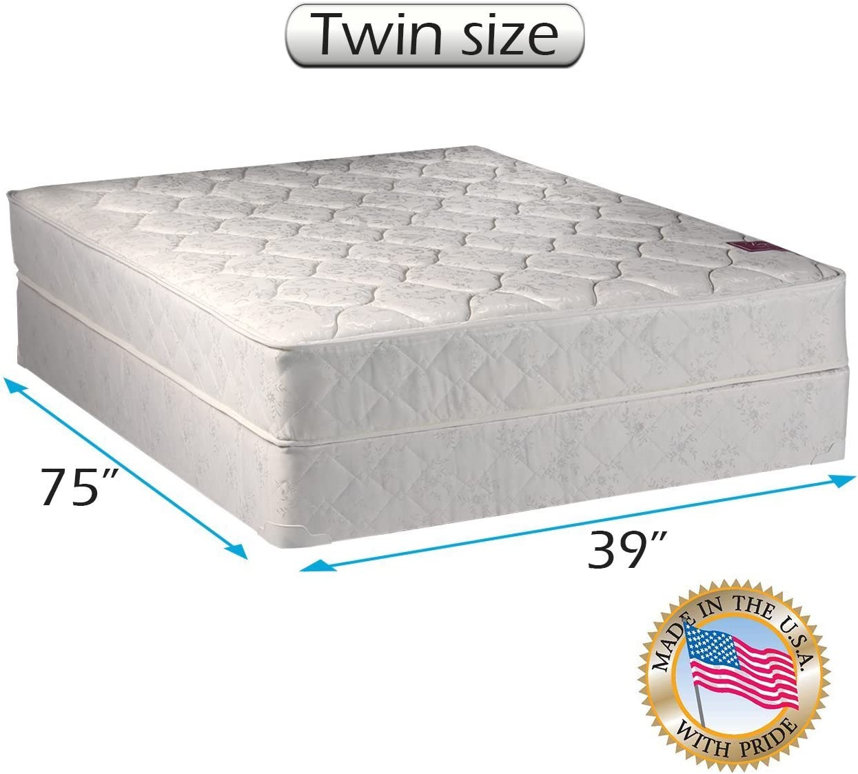 Amazon Com American Legacy Innerspring Coil Twin Size Mattress