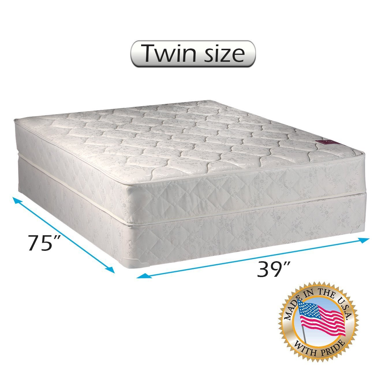 Amazon.com: American Legacy Innerspring Coil Twin Size Mattress