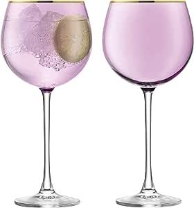 LSA International Sorbet Balloon Glass, 17.8 fl. oz, Nougat