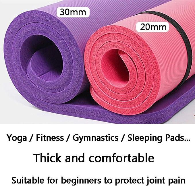 DTZDLL Manta de Fitness Yoga Mat Antideslizante Tie Prueba ...
