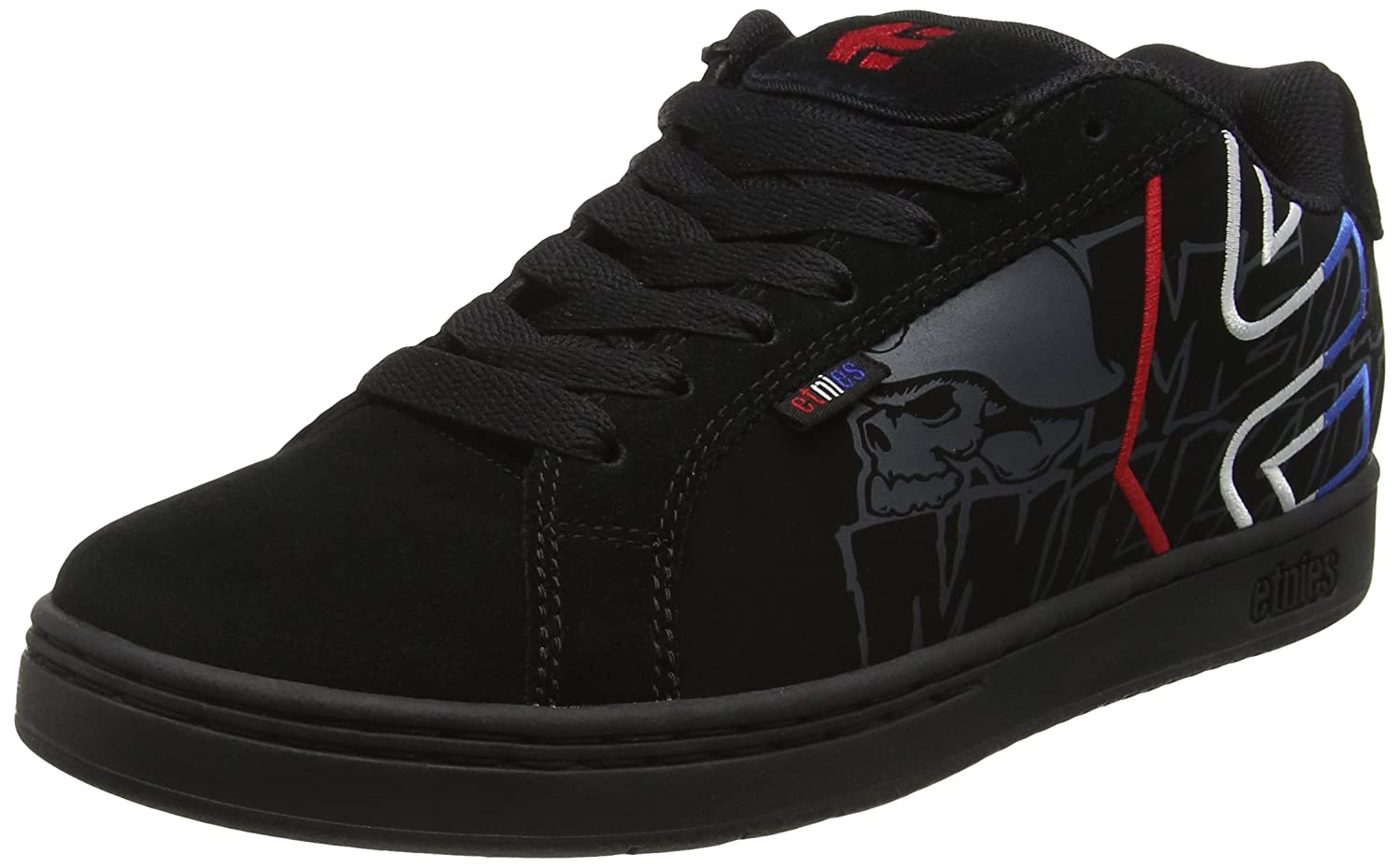 etnies Metal Mulisha Fader - Zapatillas de Skate Para Hombre, Color Negro - Black (black/blue/white589), Talla 43 EU (9 UK)
