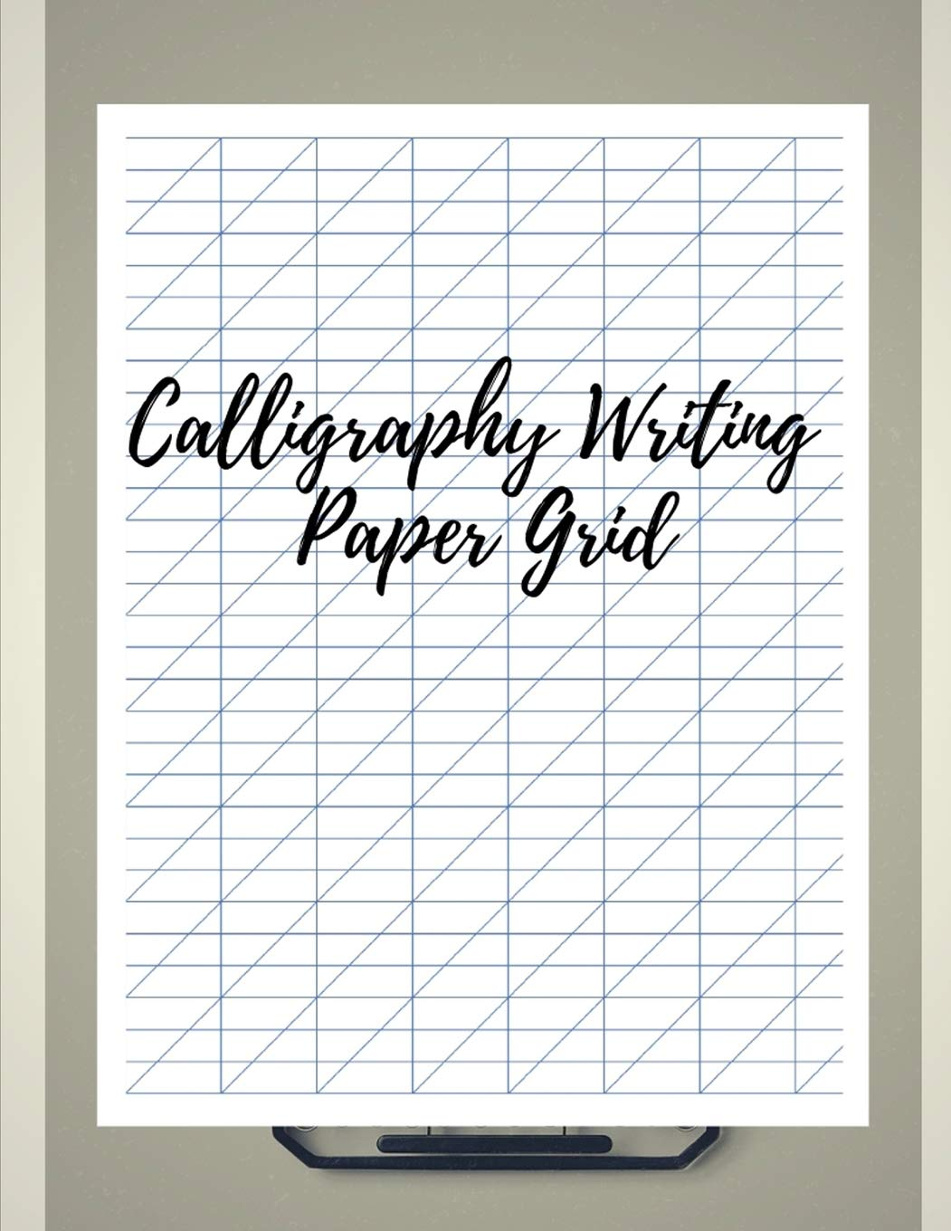 Calligraphy Writing Paper Grid: Arabic Alligraphy For