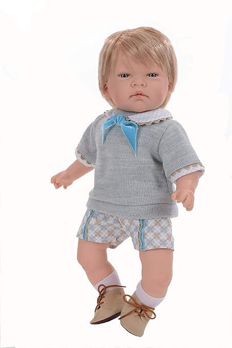Amazon.com: Ann Lauren Muñecas de pelo rubio azul ojos para ...