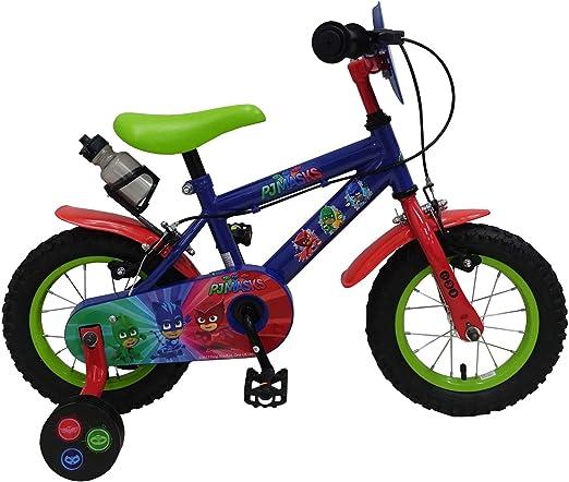 Bicicleta infantil 16 pulgadas Joven con ruedines yipeeh Black ...