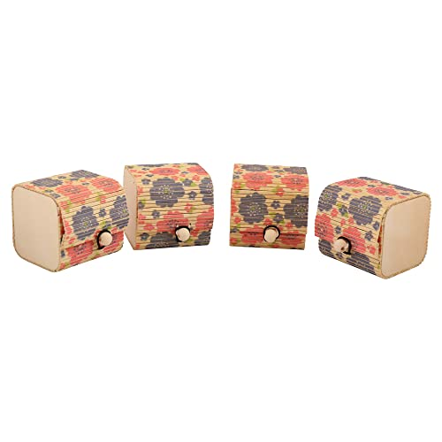 Buy DAISYLIFE Women s Handmade Bamboo Wooden Jewelry Organizer Box -Set of  4 Online at Low Prices in India  3f6824300561f