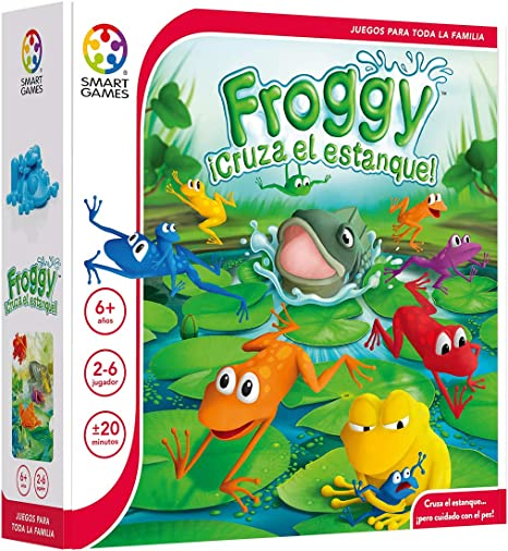 Resultado de imagen de froggy cruza el estanque