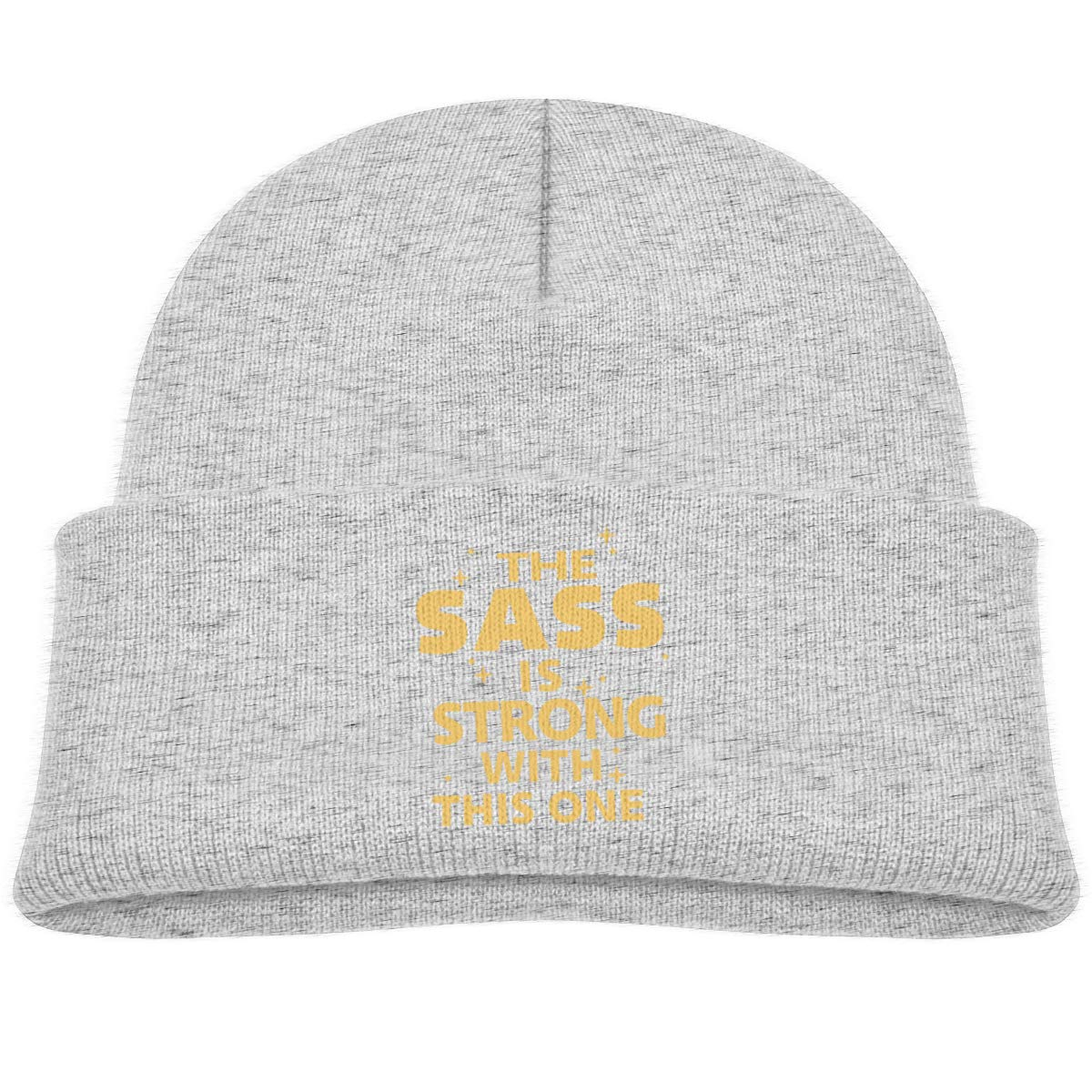 The Sass is Strong with This One Infant Knit Hat Baby Girl Beanie Caps