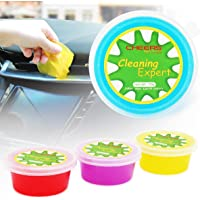 Car Cleaning Gel 4-Pack Detailing Essential Putty for Computer Vacuum Cleaner Interior Universal Dust PC Tablet Laptop…