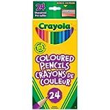 Crayola 24 Coloured Pencils Arts & Crafts