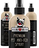 Premium Pet Anti Itch Spray & Scent Freshener! ALL NATURAL & Hypoallergenic! Soothes Dogs & Cats Hot Spots, Itchy, Dry, Irritated Skin! Reduces Odor & Allergy Relief! Smells Amazing!
