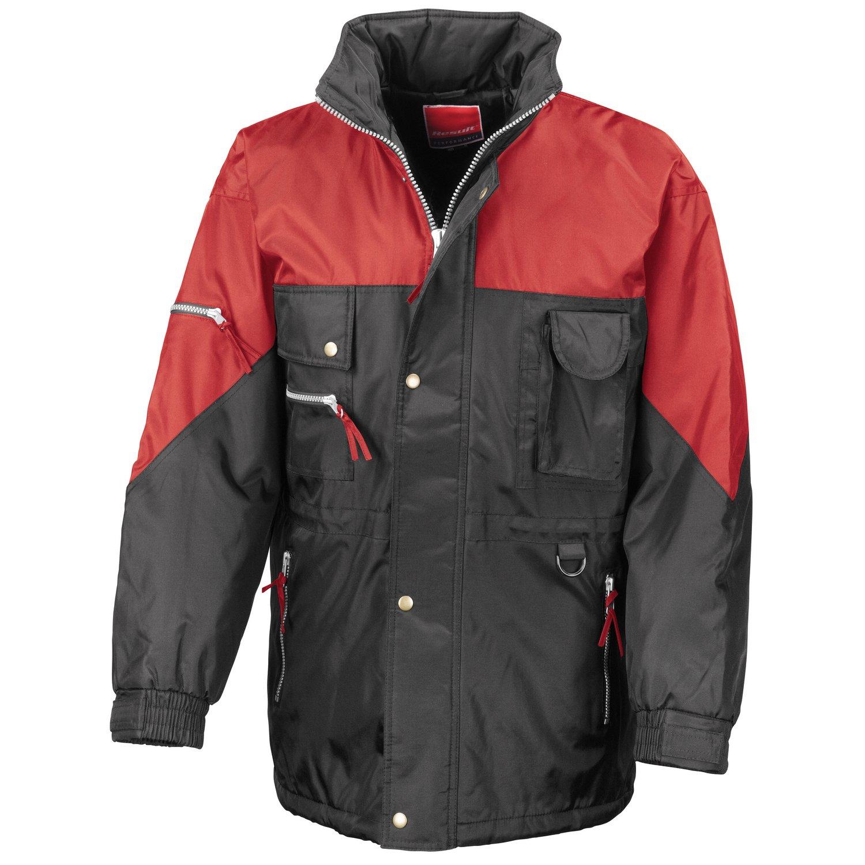Result Hi-active jacket Black/ Red XL