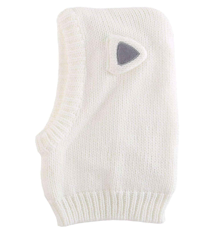 LLmoway Baby Toddler Kids Winter Hats Warm Knit Scarf Hood Fleece Earflap Hat