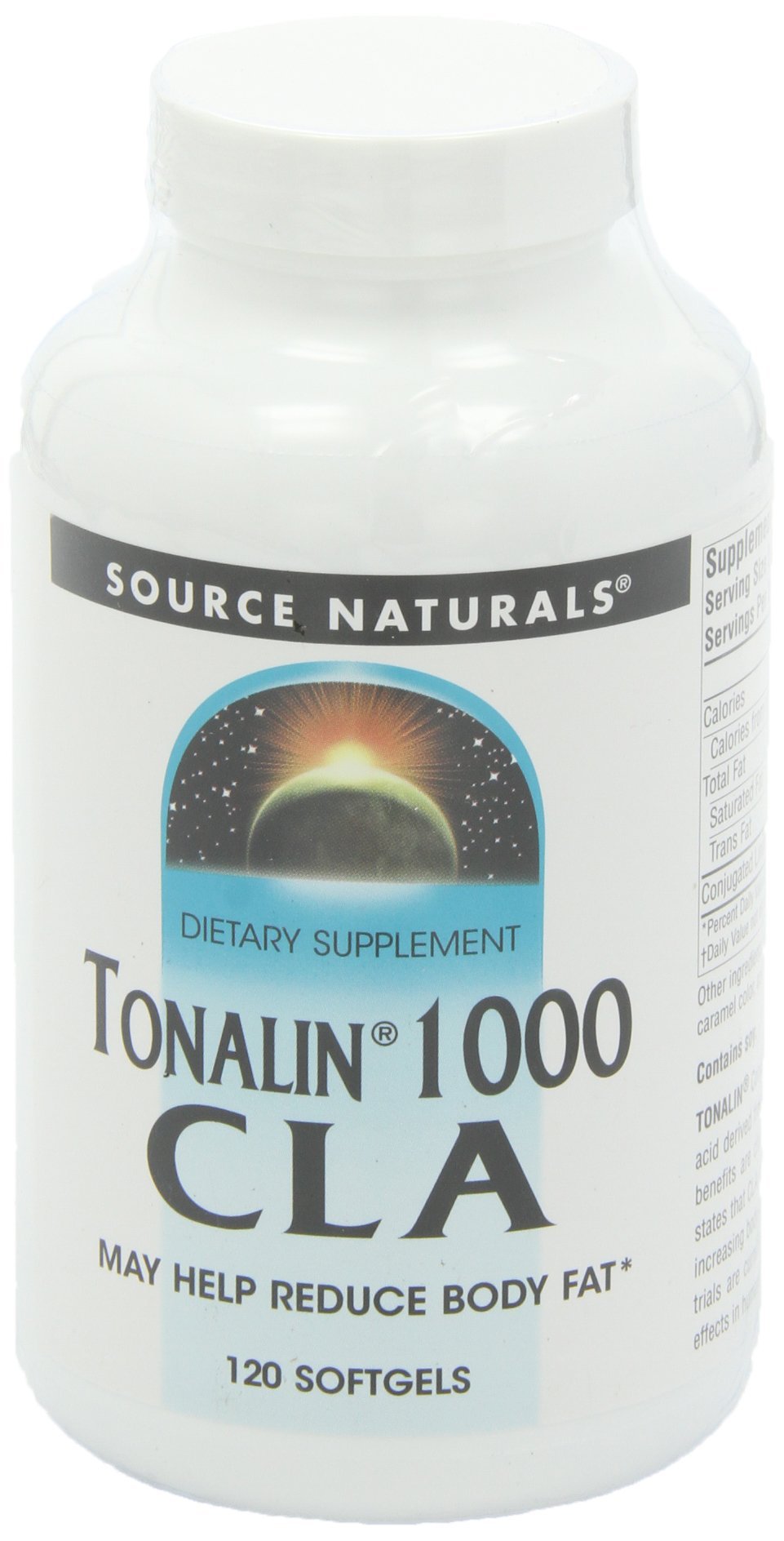 Source Naturals Tonalin CLA, 1000mg, 120 Softgels