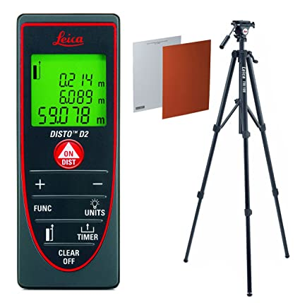 leica disto d2  : Leica DISTO D2 Laser Distance Measurer With TRI100 ...