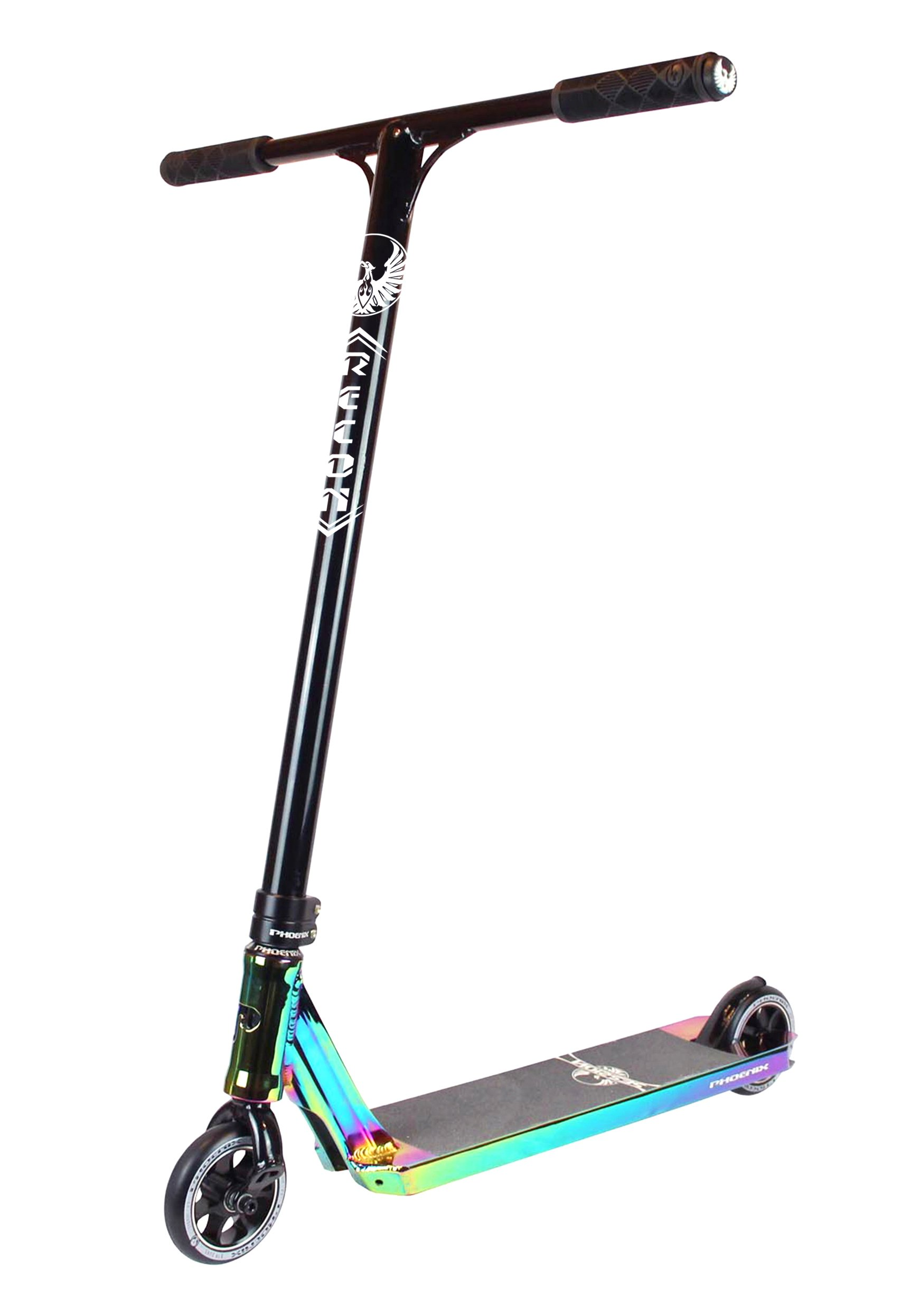 Phoenix Session Pro Scooter (Neo Chrome) by Phoenix Pro Scooters