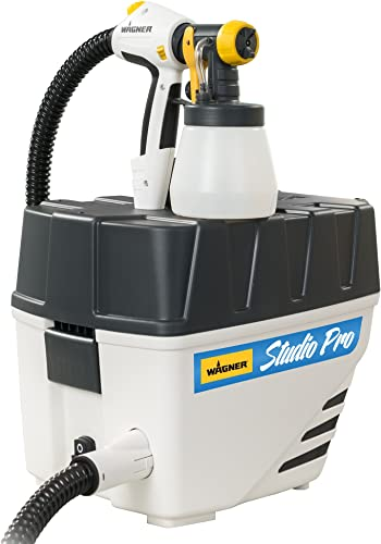 Wagner 0529050 Studio Pro HVLP Stationary Paint Sprayer, home d cor paint spray interior paint sprayer for latex, chalk and milk paint to refinish furniture