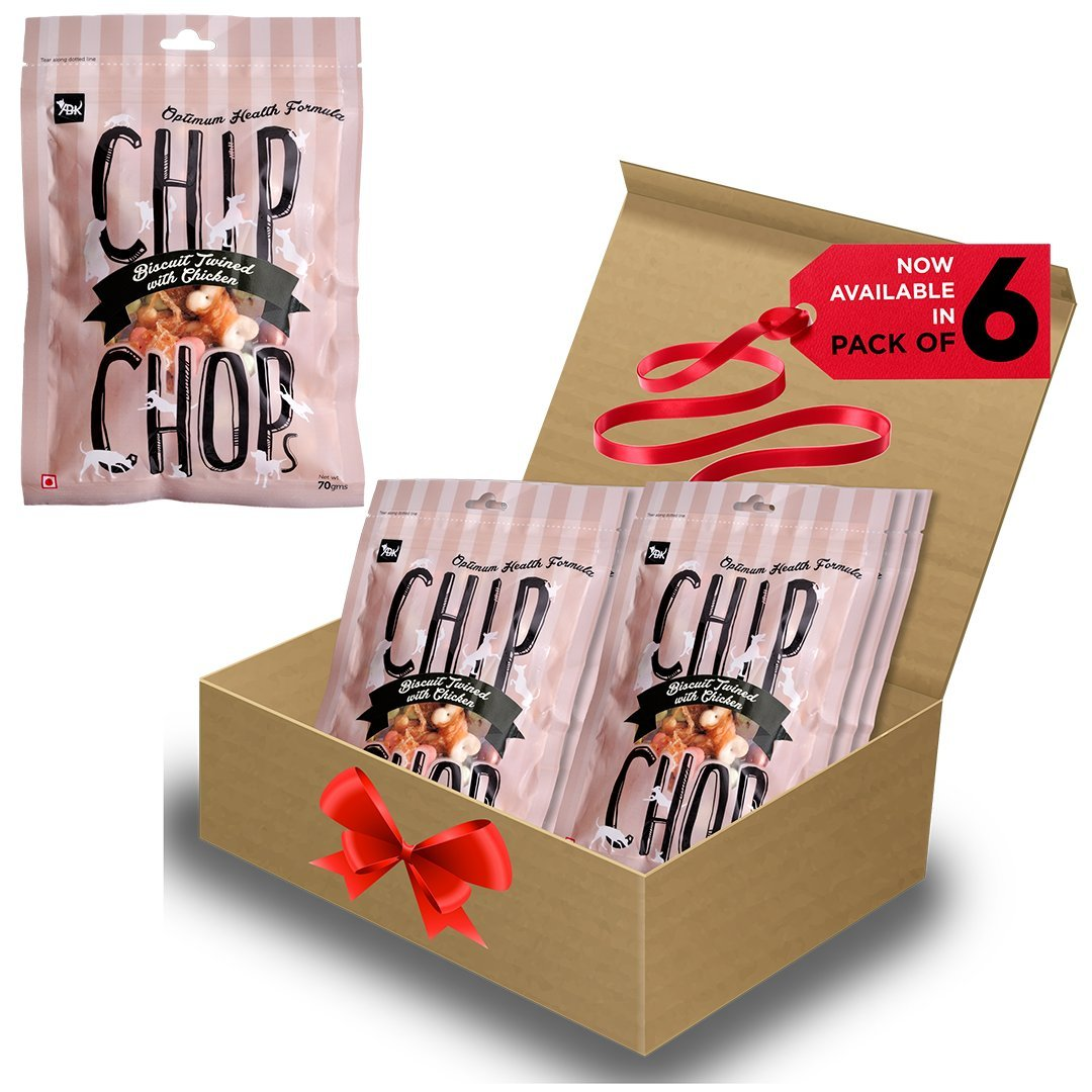 Chip Chops Dog Treat Biscuit Twined with Chicken, 840g, Pack of 12, Optimum Health Formula (Pack od 6) (B01N57VKSZ) Amazon Price History, Amazon Price Tracker