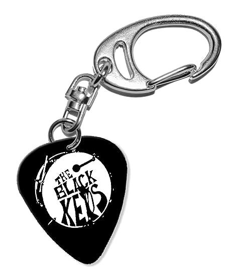 The Black Keys Guitarra Plectro Keyring Llavero (F1): Amazon ...