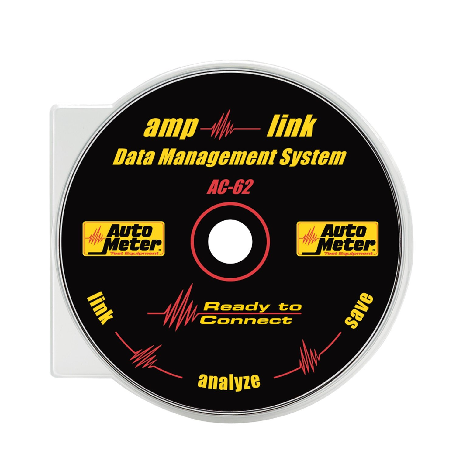 AutoMeter Auto Meter AC-62 Test Equipment Amp-Link Data Download Software