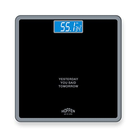Hoffen HO-18 Digital Electronic LCD Personal Body Fitness Weighing