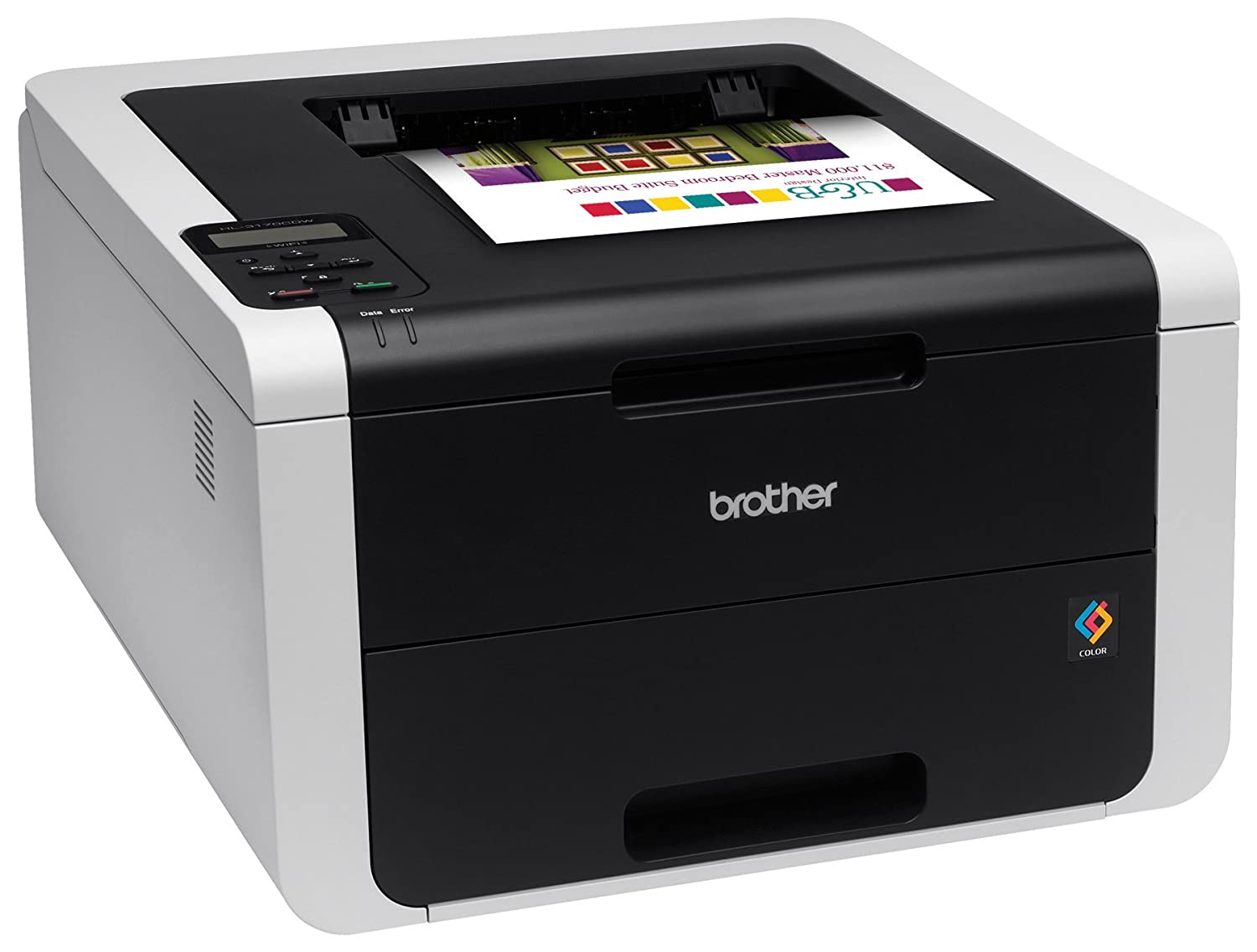 Color printing cost per page in india - Amazon Com Brother Hl 3170cdw Digital Color Printer With Wireless Networking And Duplex Amazon Dash Replenishment Enabled Office Products