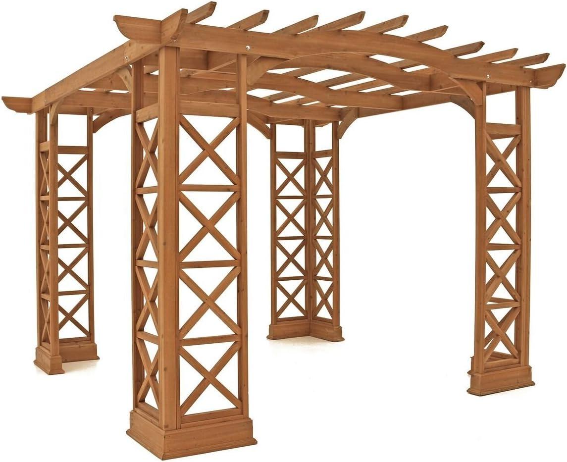 Yardistry Arco Techo pergola, 12 por 14-Feet, remolcador: Amazon.es: Jardín