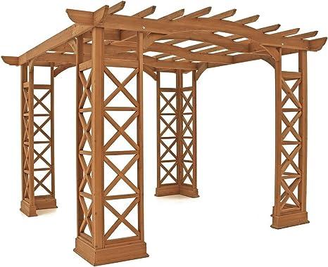 Yardistry Arco Techo pergola, 12 por 14-Feet, remolcador
