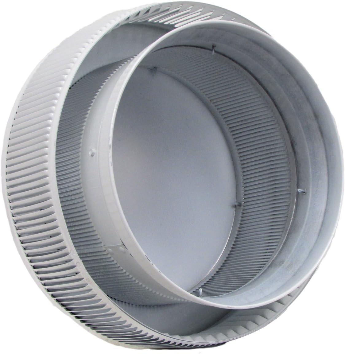 Black Aura PVC Vent Cap 12 Inch Diameter