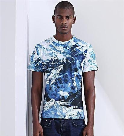 STEAM PANDA Camiseta De Manga Corta Para Hombres Impresión Digital Para Hombres,XL