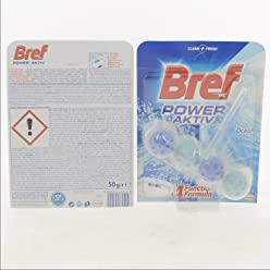 Bref WC Power Aktiv 4 Function Formula (Ocean Breeze)