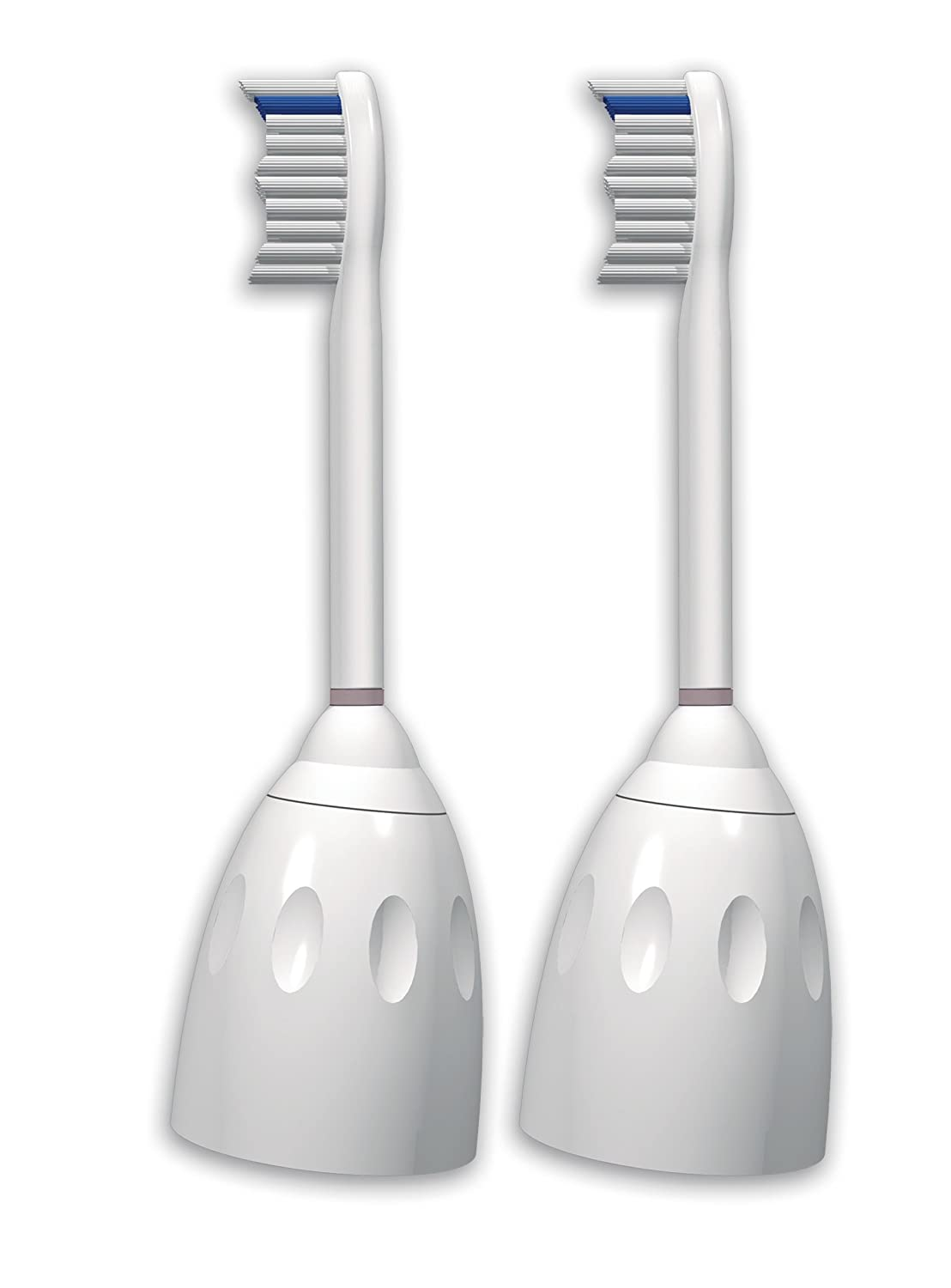 Philips Sonicare E-Series Replacement Brush Heads, 2 Pack, HX7022/64 HX7022/66
