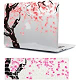 Batianda Macbook Air 13専用保護ケース クリスタル ハードシェルケース カバー 美しい桜パテント エア13.3インチ-(M403-0)