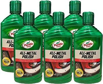 Amazon Com Turtle Wax All Metal Polish 11 Oz Pack Of 6 Automotive