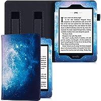 BOZHUORUI - Funda de piel sintética para Kindle Paperwhite (10ª generación – 2018 / compatible con todos los lectores…