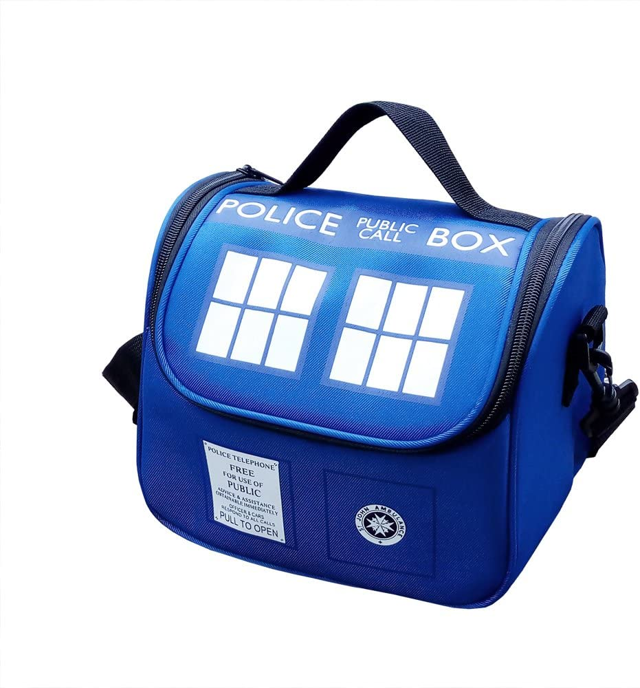 Police Public Call Box Lunch Bag