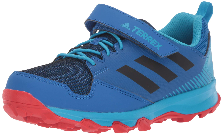 adidas outdoor Terrex Tracerocker CF Kids Trail Running Shoe, Blue Beauty/Black/Active Red, 6 Child US Big
