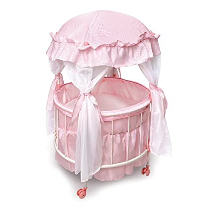 Amazon Com The Ashton Drake Galleries Royal Baby Pink Domed Canopy