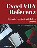 Excel VBA Referenz: Kurzreferenz für den täglichen Einsatz